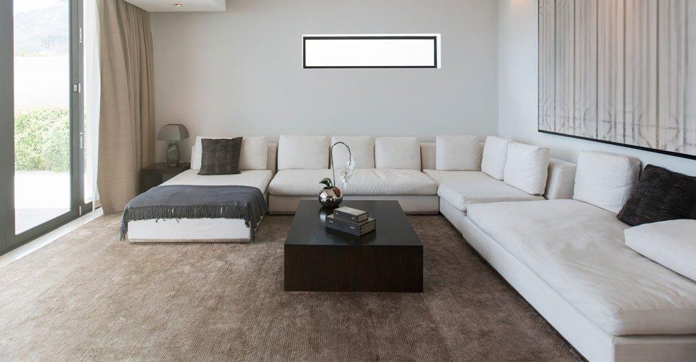 L-shape seating furniture