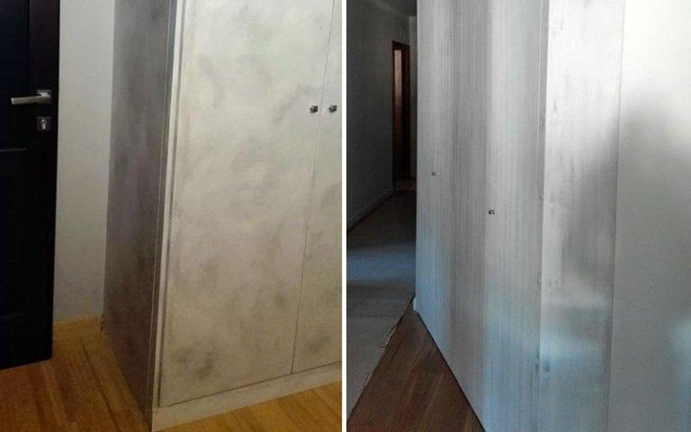 armadio a muro camera