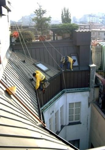 Manutenzione tetti e coperture edili
