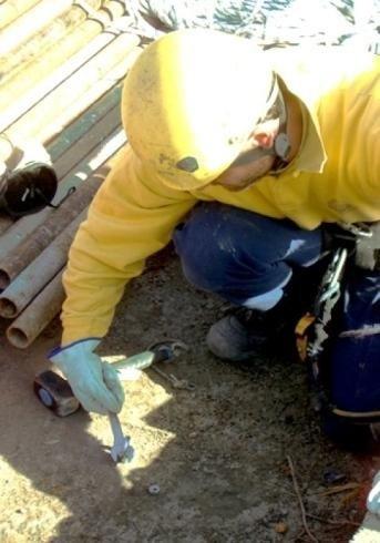 Installazione di impalcature sospese
