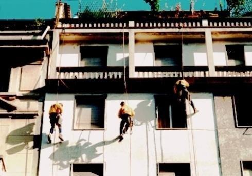 Manutenzione facciate edifici civili