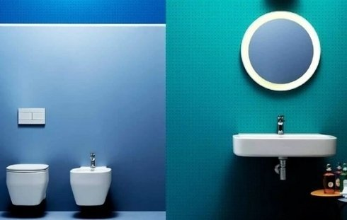 soluzioni per il bagno in abbinamento