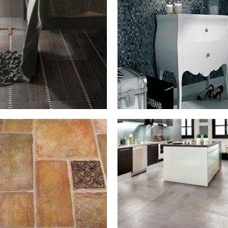 illustrazione di pavimenti e parquet di qualità