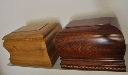 Urne in legno
