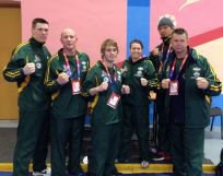 aus team at world combat sport accord games in russia