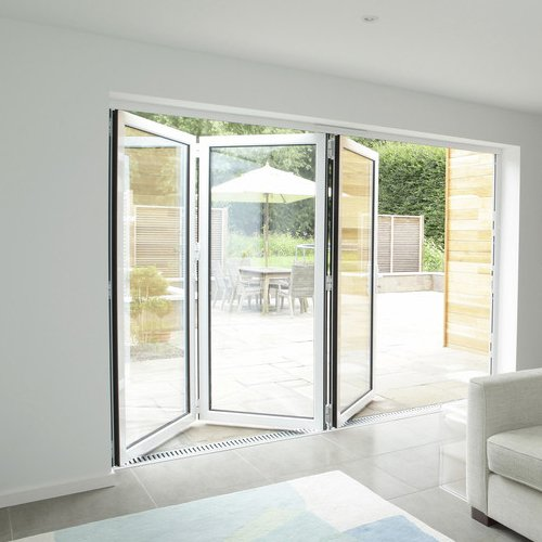 Bi-fold French doors