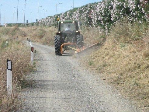 manutenzione strade sterrate
