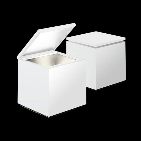 cubo led bianco