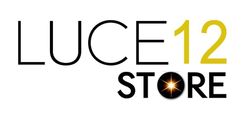 LUCE 12 STORE logo