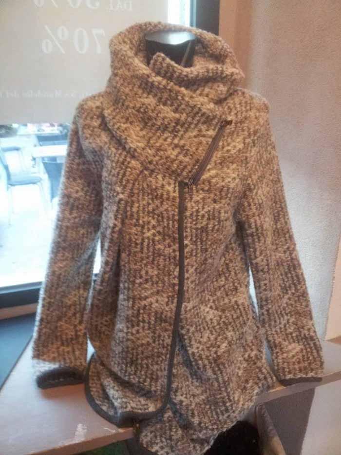 cappotto lungo in lana da donna