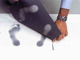 impronte di carico del piede