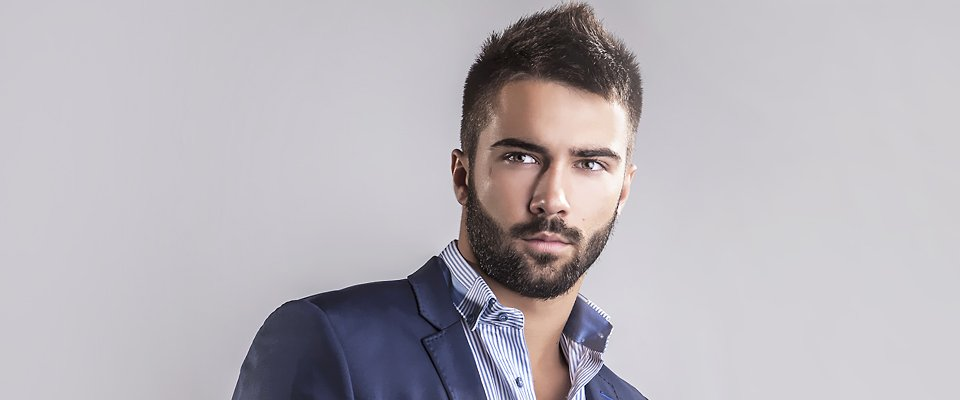 Stylish hair cut for men