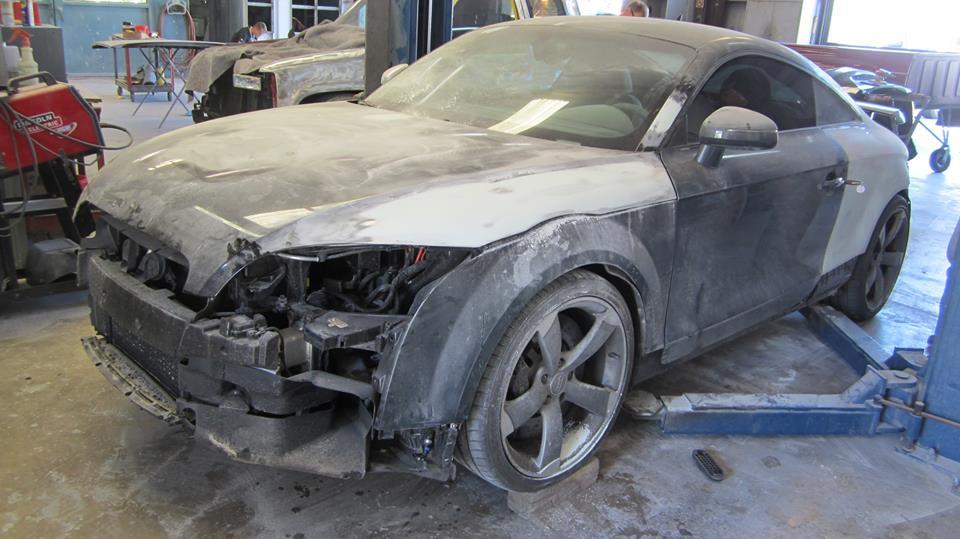 Auto Body Repair Shop Wilmington NC Factory Finish Auto Collision - Audi auto body