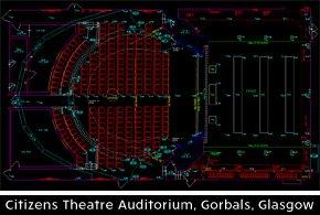 Citizens Theatre Auditorium, Gorbals, Glasgow