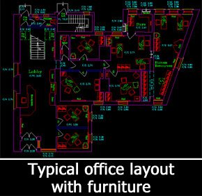 Office Layout & Space Plan