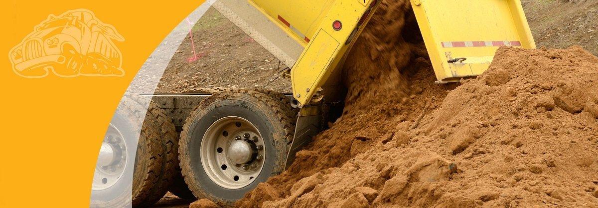 Allsands Truck Dumping  Sand