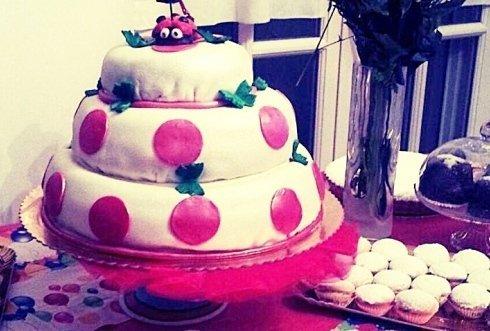 realizzazione torte con disegni