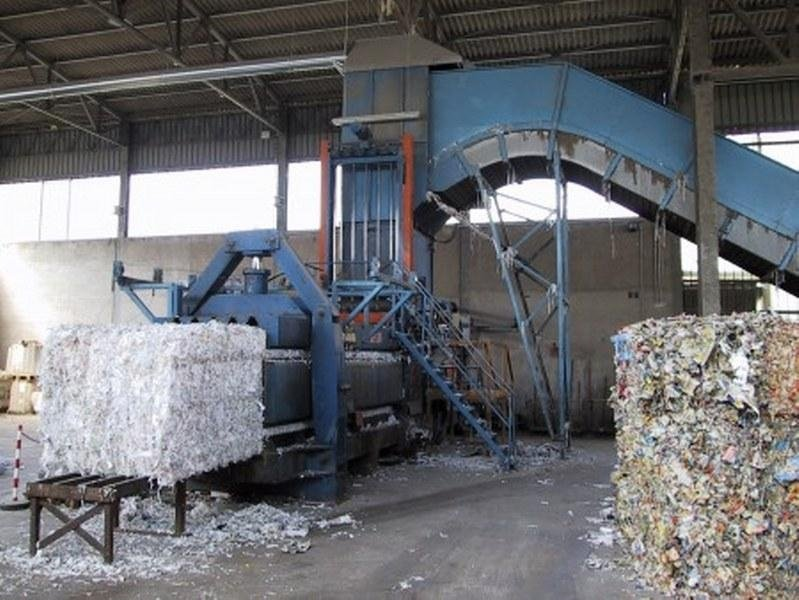 Impianto trattamento rifiuti