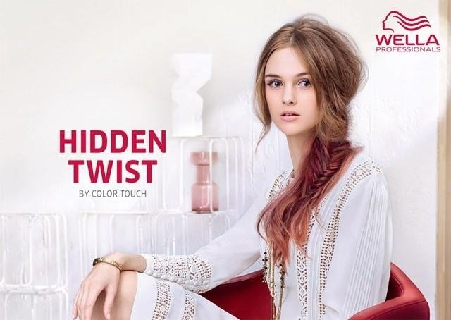 hidden twist, wella