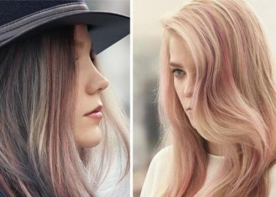 pastel blond