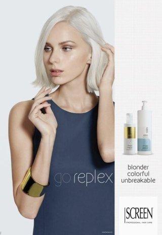 go Replex screen, screen capelli