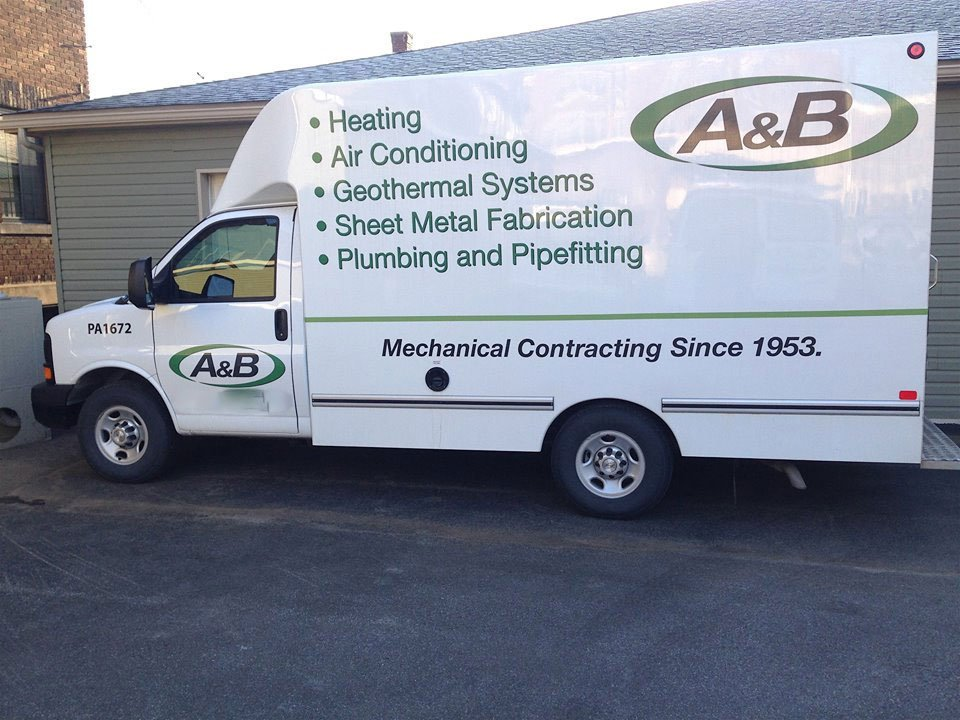 A Amp B Heating Amp Sheet Metal Co Inc Hvac Contractor For