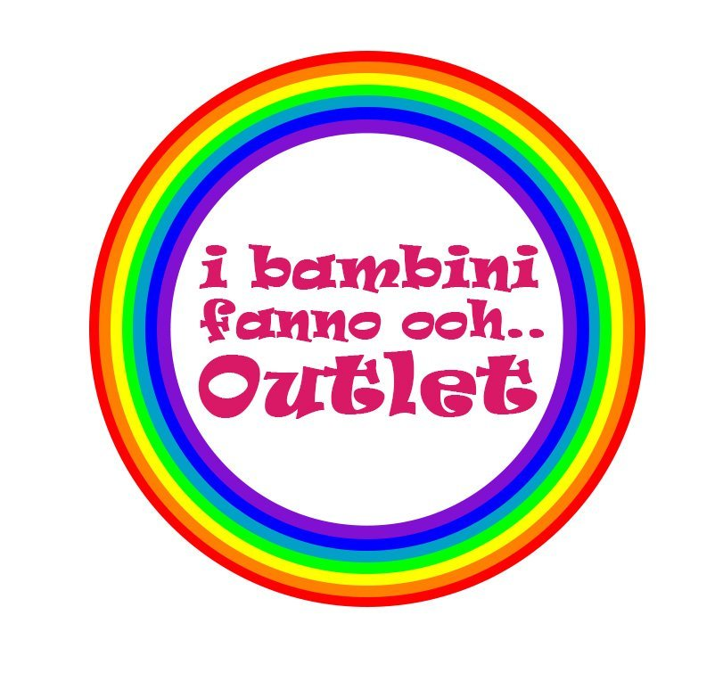 i bambini fanno ooh outlet logo