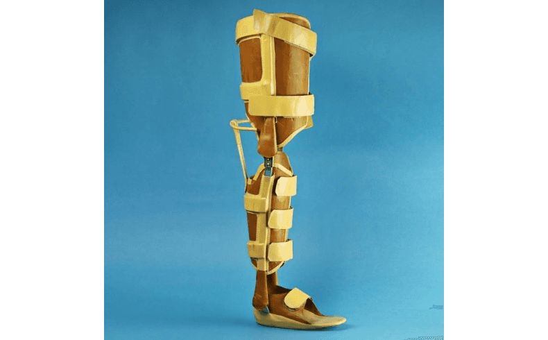tutore per gamba e ginocchio