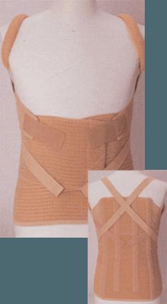 corsetto dinamico dorso lombare