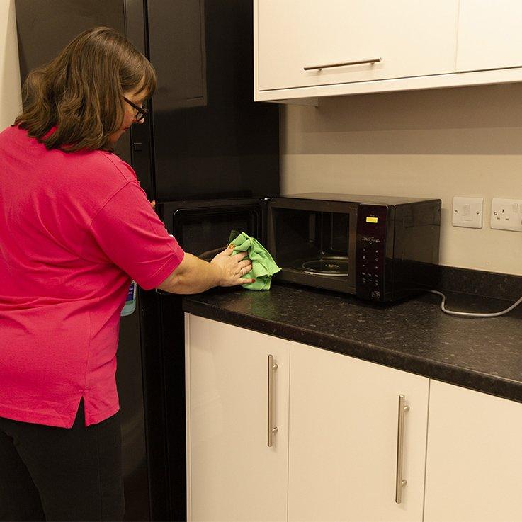 Clean Office Kitchen