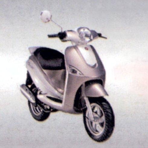 scooter grigio perla