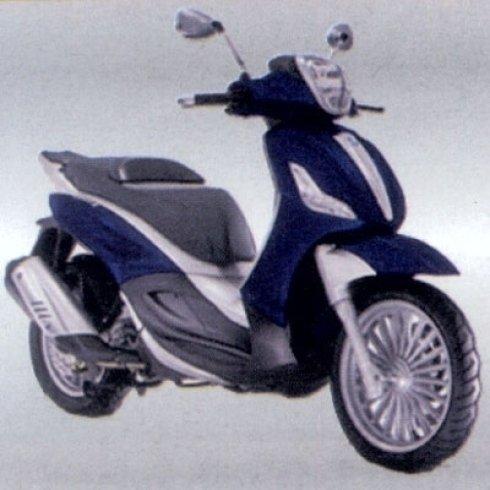 scooter blu