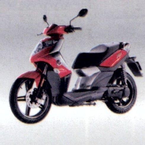 scooter arancione
