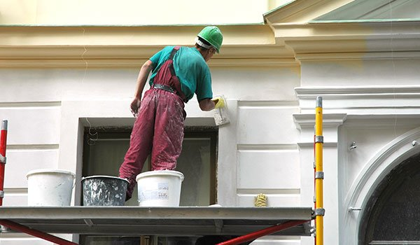 Exterior painting services in East Haven