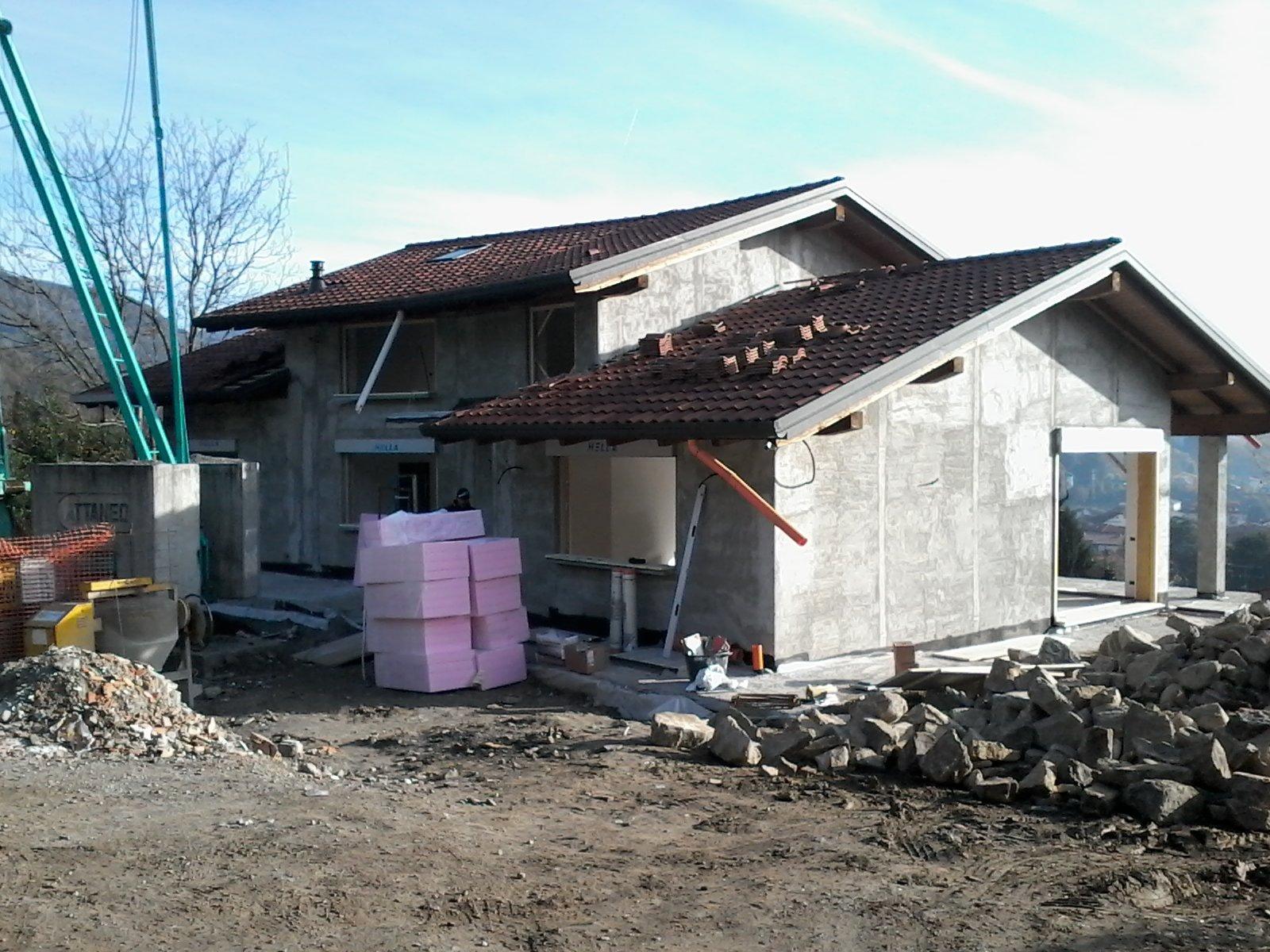 abitazione in fase di ristrutturazione