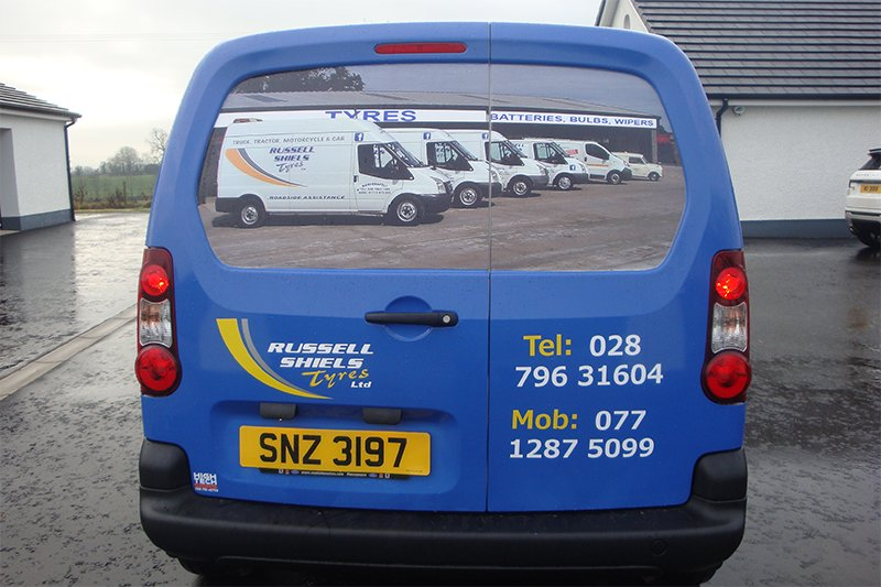 Russell Shiels Tyres Ltd vehicle