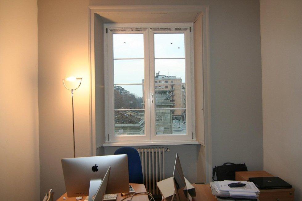 finestra d'ufficio
