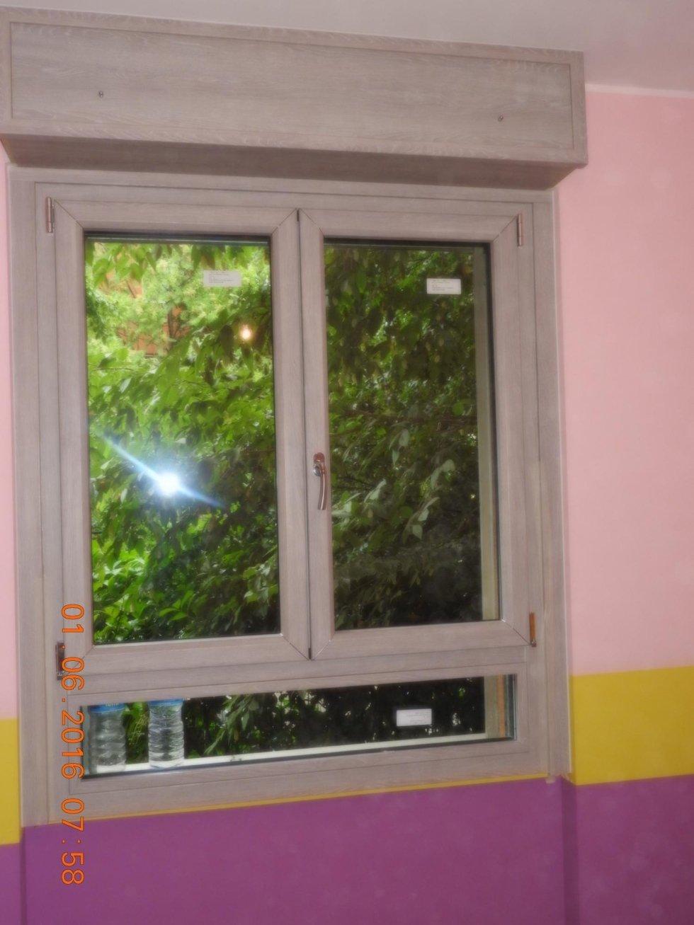 finestra verticale