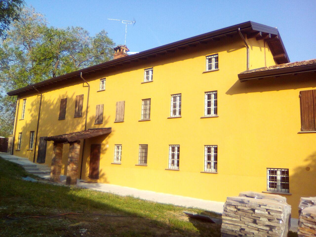 facciata esterna dipinta