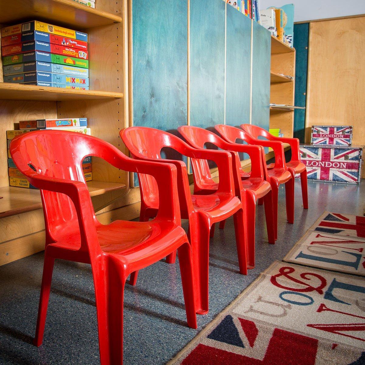 sedie del laboratorio