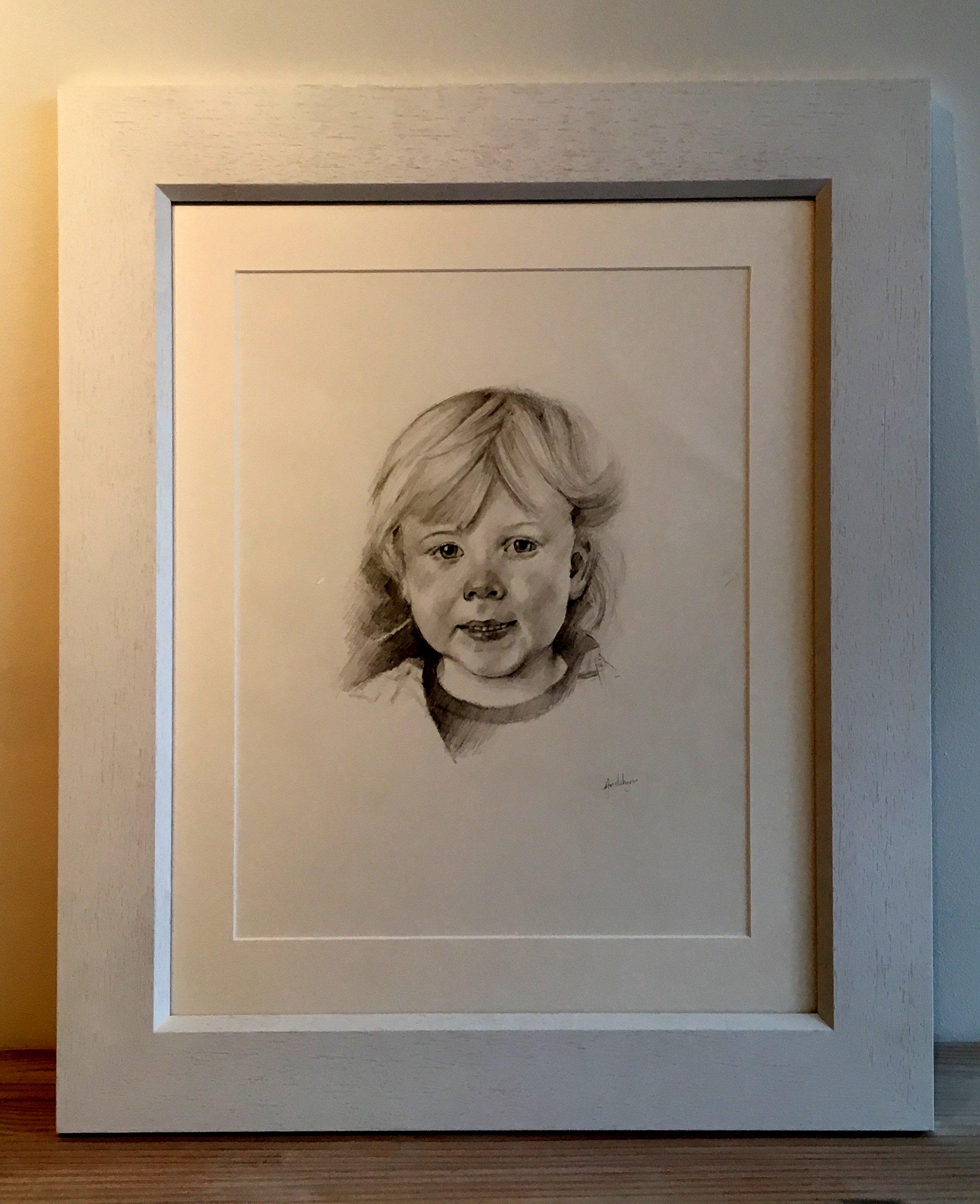 Commission children portrait by Mac's Studio