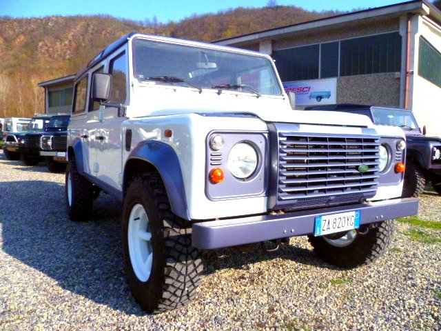 DEFENDER 110 TD5 DOUBLE COLOR