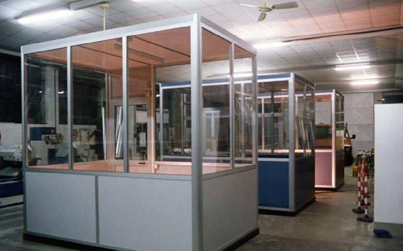 Gabbiotto Per Ufficio : Box per uffici villanova canavese teknometal