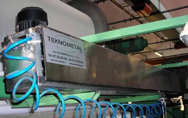 soffiatore industriale telai
