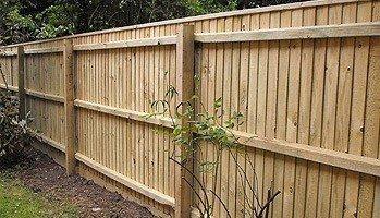 Sturdy garden fencing