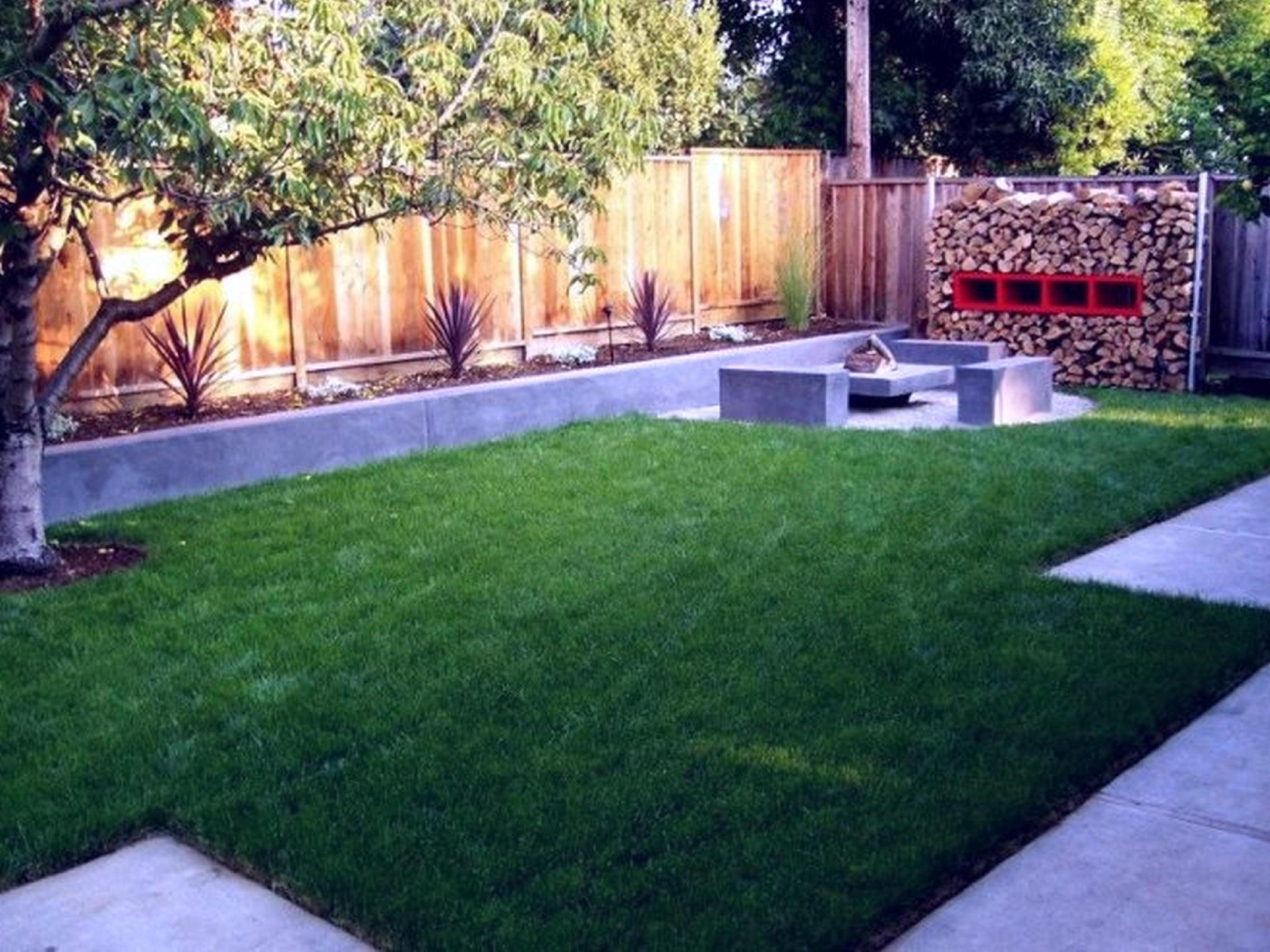 Lush green lawns