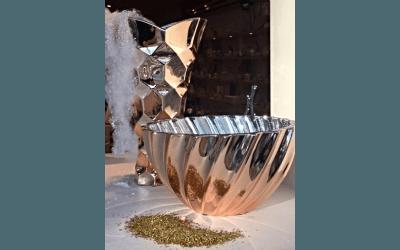 Vaso e centrotavola color Gucci