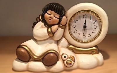 Orologio con angelo