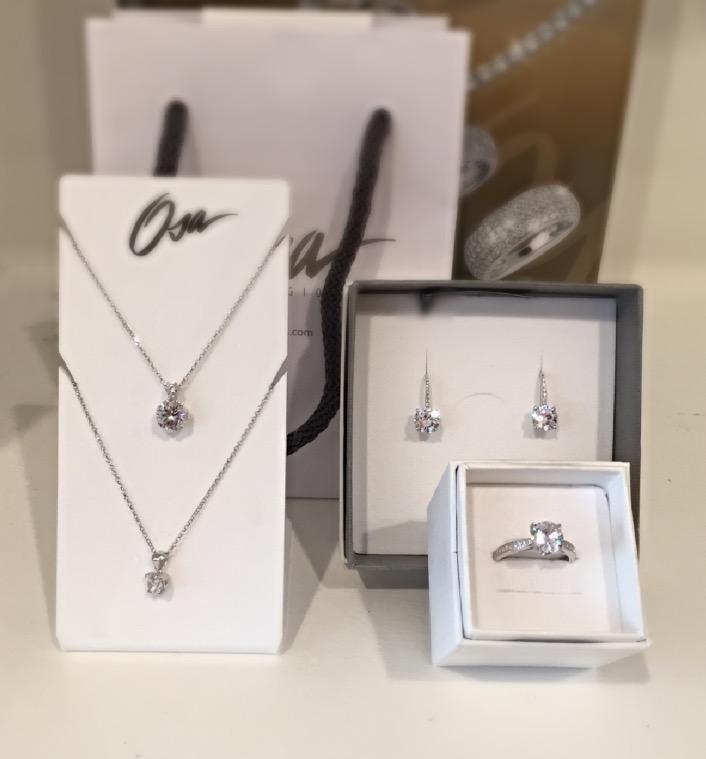 Completi in argento di Osa jewels