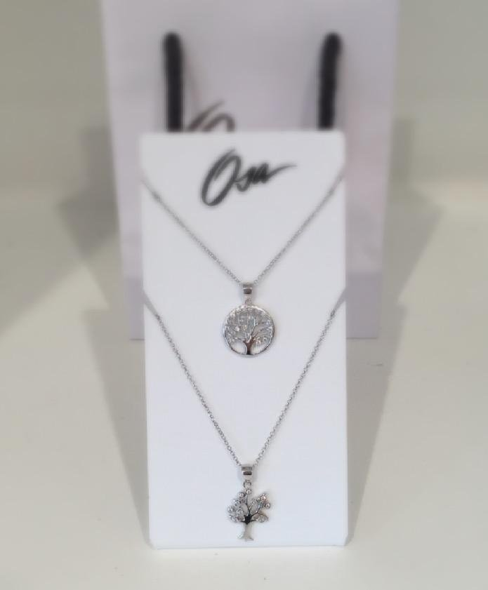 Collane in argento con albero della vita di Osa jewels